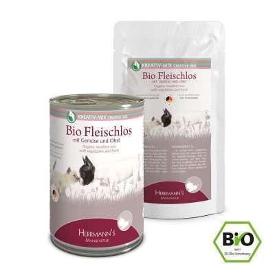 Herrmanns Bio Fleischlos veganes Ergänzungsfutter 150g und 400gg