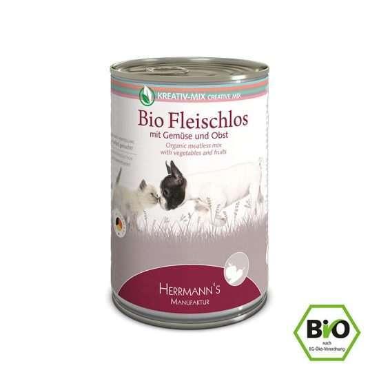 Herrmanns Bio Fleischlos veganes Ergänzungsfutter 400g Dose
