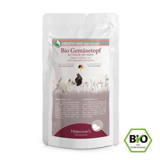 Herrmanns Bio Gemüsetopf veganes Ergänzungsfutter 150g Beutel