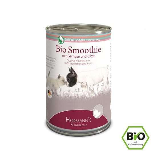 Herrmanns Bio Smoothie veganes Ergänzungsfutter 400g Dose