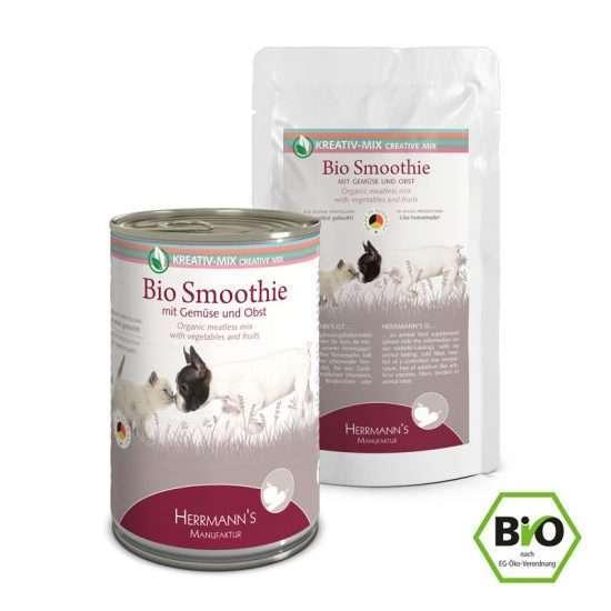 Herrmanns Bio Smoothie veganes Ergänzungsfutter 150g und 400g