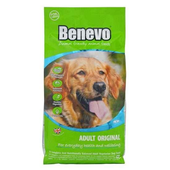 Benevo Dog Adult Original veganes Trockenfutter 2 kg