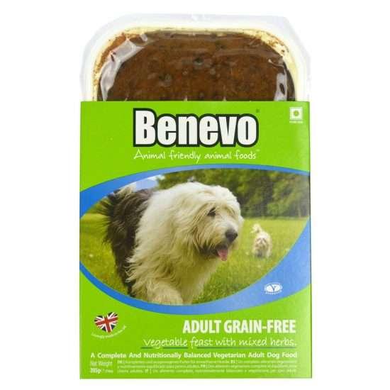 Benevo Adult Grain-Free veganes Hundefutter 395g