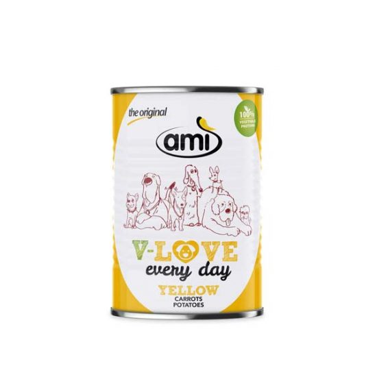 Ami Dog V-Love every day vegetarisches Hundefutter 400g | veganpaws