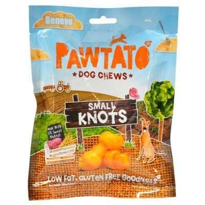 Benevo Pawtato Knots Small veganer Kauartikel | veganpaws