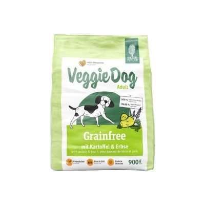 GREEN PETFOOD Veggie Dog grainfree vegetarisches Trockenfutter 900g