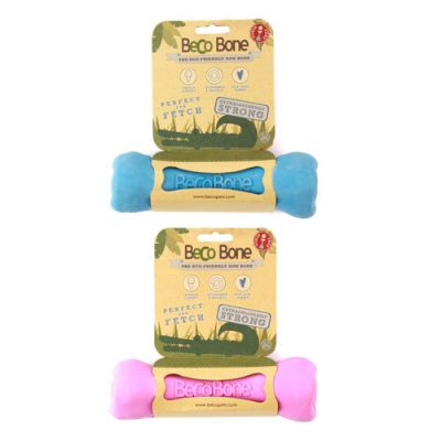 BecoPets Bone Pink Blue | veganpaws