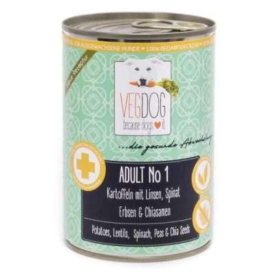 VEGDOG Adult No1 veganes Nassfutter für Hunde | veganpaws