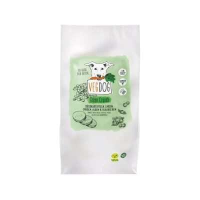 VEGDOG Green Crunch veganes Trockenfutter