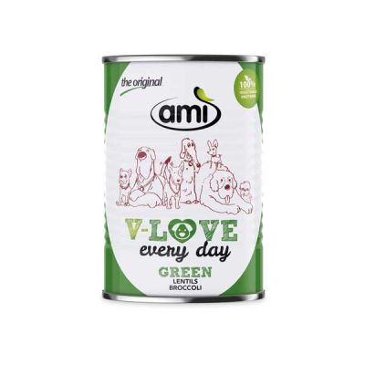 AMI Dog V-Love Green vegetarisches Hundefutter 400g | veganpaws
