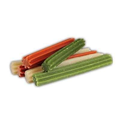 Dentogum Reisstangen Mix S vegane Kaustangen für Hunde 120g