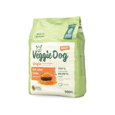 Green Petfood Veggie Dog Origin vegetarisches Trockenfutter 900g