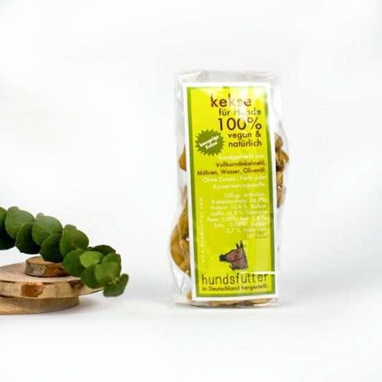 Hundsfutter Möhren-Kekse 75g