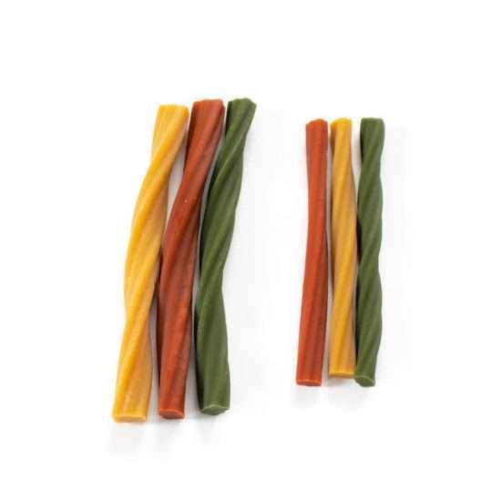 Duvo+ Garden Bites Dental Twisters vegane Kaustange