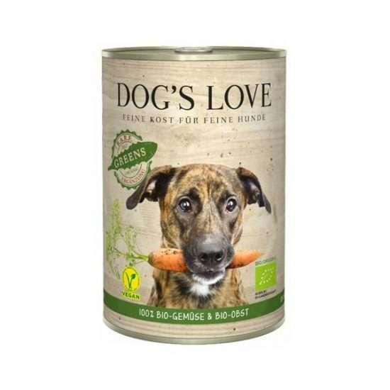 DOG'S LOVE Bio Greens veganes Ergänzungsfutter