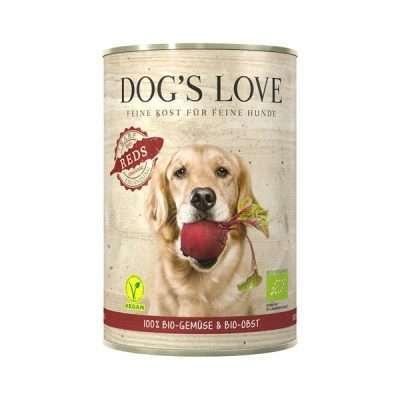 DOGS'S Love Bio Reds veganes Eränzungsfuttermittel für Hunde