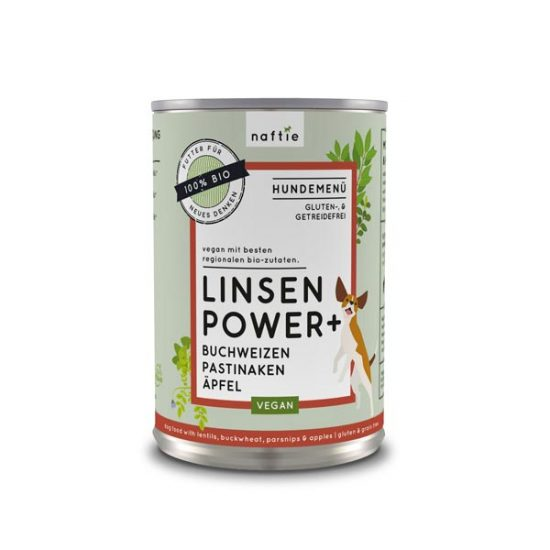 NAFTIE Linsen Power+ veganes Nassfutter