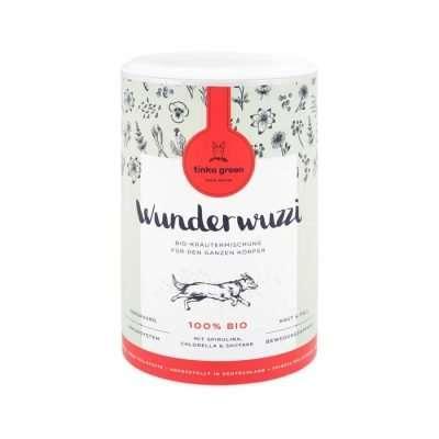 TINKA GREEN Wunderwuzzi Bio-Kräutermischung Nahrungsergänzungsmittel für Hunde