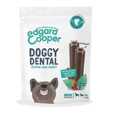 EDGAR UND COOPER Doggy Dental Minze Erdbeere Kausticks Small